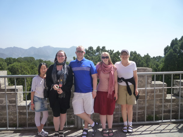 Icelandic Adoptiona Group in the Great Wall