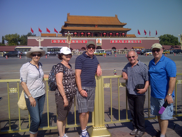 The photo of Andrea Williams' China Tour
