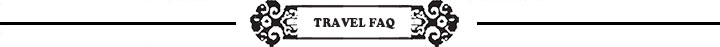 Travel FAQ