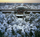 Forbidden City in the winter