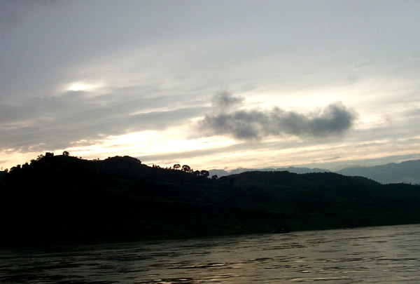 Xiling Gorge in Sunset