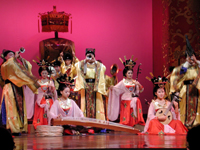Music Show with Tang Dynasty Instrument